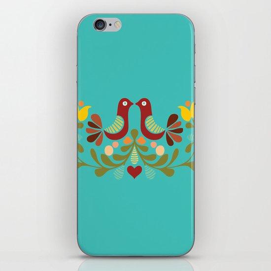 Vector folk art design iPhone & iPod Skin