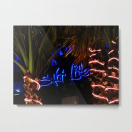 Salt Life Restaurant  Metal Print