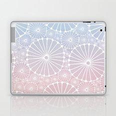 Abstract Floral Circles 8 Laptop & iPad Skin