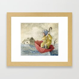 Waterproof Framed Art Print