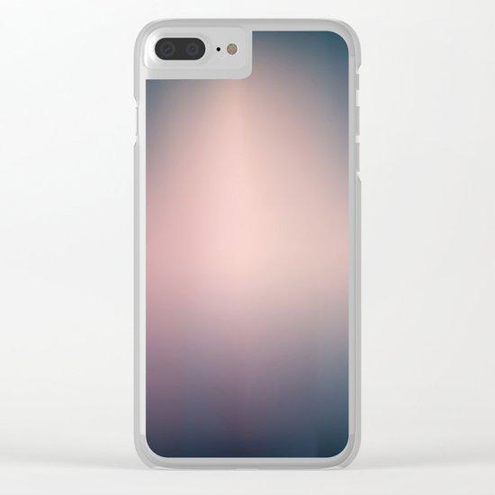 Blurry Clear iPhone Case