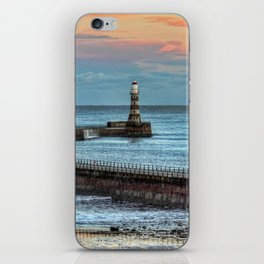 Roker Pier and Lighthouse iPhone Skin