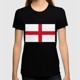 Flag of England (St. George's Cross) - Authentic version to scale and color T-shirt