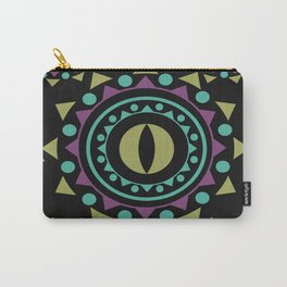 OM on Black Carry-All Pouch