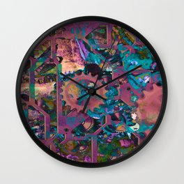 Steampunk,abstract Wall Clock