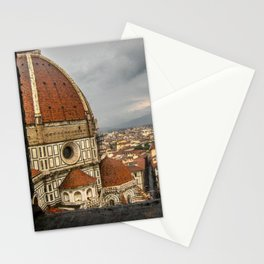 Climb up the Duomo. Florence, Italy. Stationery Cards