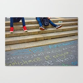 Freedom of Expression Canvas Print
