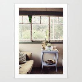 Summer House Art Print
