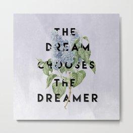 Strange the Dreamer Metal Print