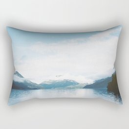 Lake in the Sky Rectangular Pillow
