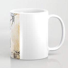 colorful floral girl Coffee Mug