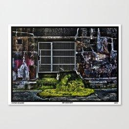 Dry Dock Rott Canvas Print
