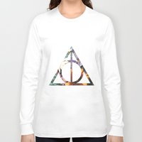 deathly hallows Long Sleeve T-shirts featuring Deathly Hallows by Romana Catalini