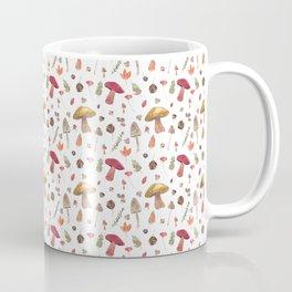 Autumn mushroom pattern Coffee Mug