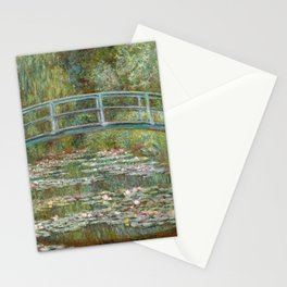Monet, Water Lilies and Japanese Bridge, 1854 Stationery Cards
