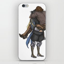 Smol & Strong iPhone Skin