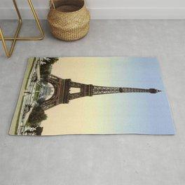 Eiffel tower 1- in 1900 Rug