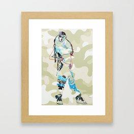 Chloe. Framed Art Print