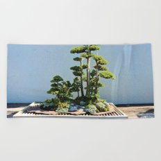 Forest Island Beach Towel