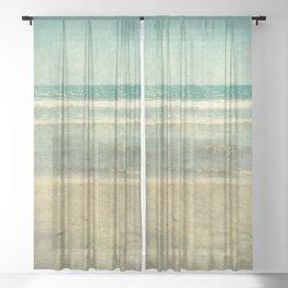 Life's A Beach Sheer Curtain