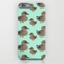 Cute female mallard iPhone Case