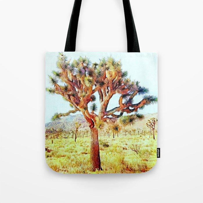 Joshua Tree VG Hills by CREYES Tote Bag