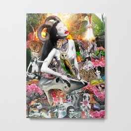 Jungle Melodrama Metal Print