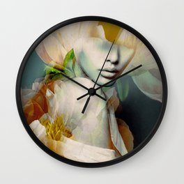 blooming 2a Wall Clock