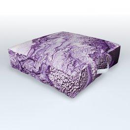 Purple Angel Wing Cloud Outdoor Floor Cushion