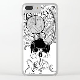 The heavy crown Clear iPhone Case