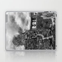 Old Tree in Cill Chriosd Churchyard Laptop & iPad Skin