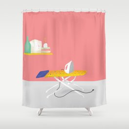 Plancha Shower Curtain