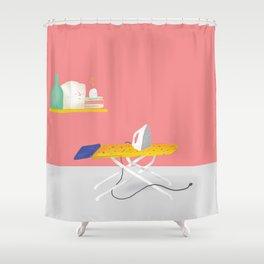 Plancha Shower Curtain