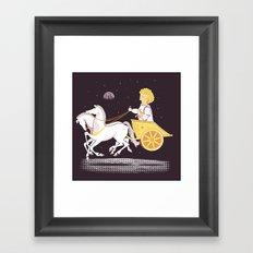 Apollo's Moon Landing Framed Art Print