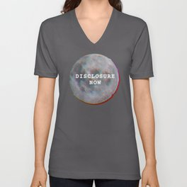 Disclosure Now Glitch Moon Unisex V-Neck
