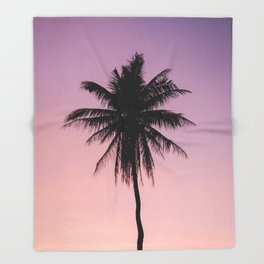 Summer Palms Throw Blanket