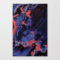 Glitch Cartography #1 Canvas Print
