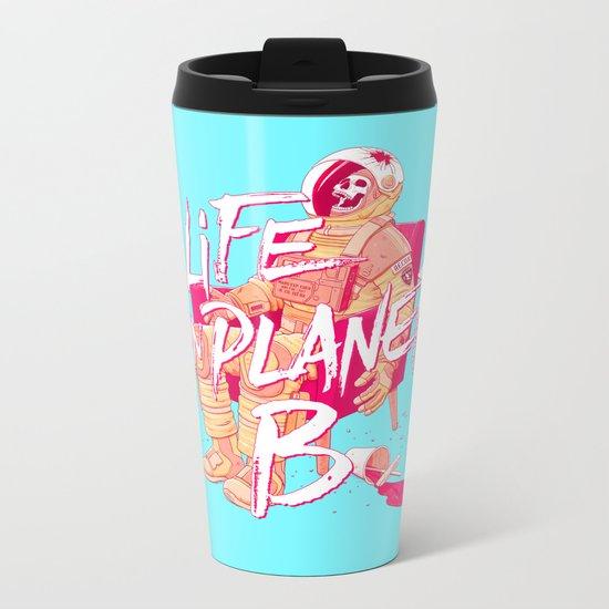 Life on Planet B Metal Travel Mug