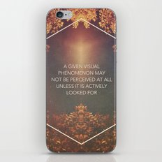 Visual Phenomenon  iPhone & iPod Skin