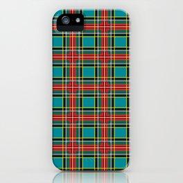 Minimalist Macbeth Tartan Ancient iPhone Case