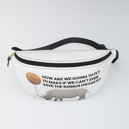 Save the Rhinos Fanny Pack