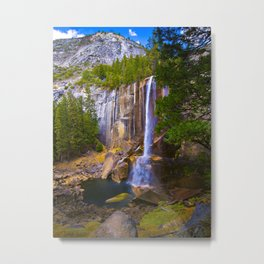 Vernal Falls, Yosemite National Park, Fall 2013 Metal Print