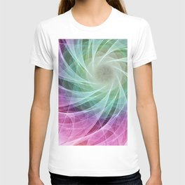 Whirlpool Diamond 2 Computer Art T-shirt