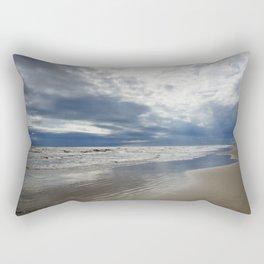 Stormy Beach Days Rectangular Pillow