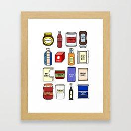 Food Framed Art Print