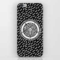 baphomet iPhone & iPod Skins featuring BAPHOMET by DIVIDUS