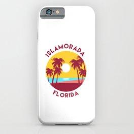 Islamorada, Florida Beach Landscape iPhone Case