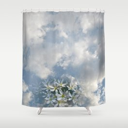 Window Curtains - Morning Fresh Shower Curtain