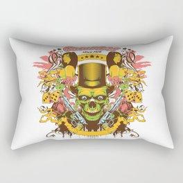 Old gambler Rectangular Pillow