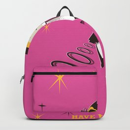 Have fun in Space Pink edition Backpack